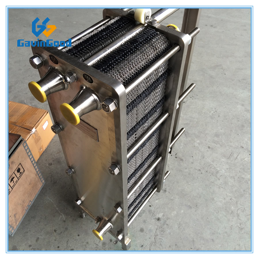 Sanitary Heat Exchanger/Plate Chiller