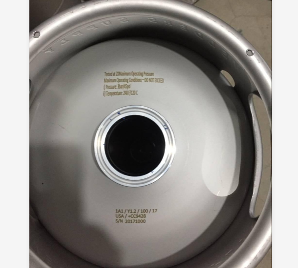 Tri Clamp Fitting Kegs